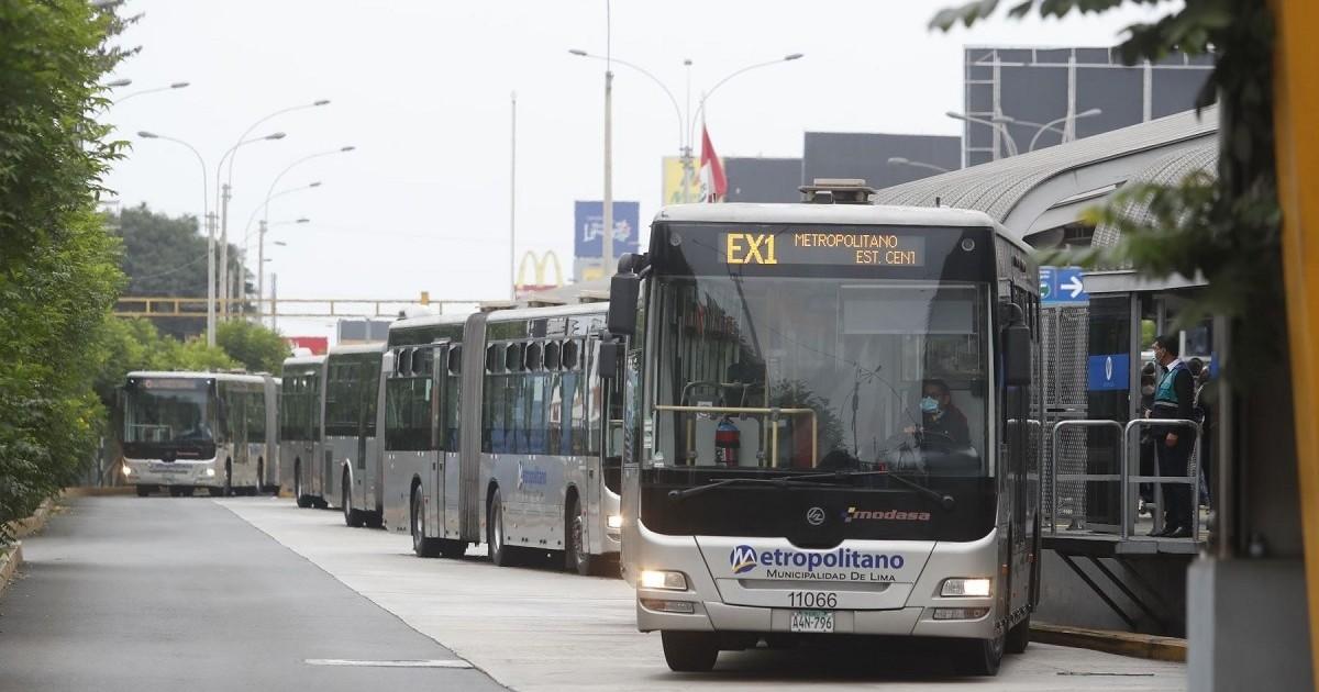ATU asumió la administración del Metropolitano y corredores complementarios