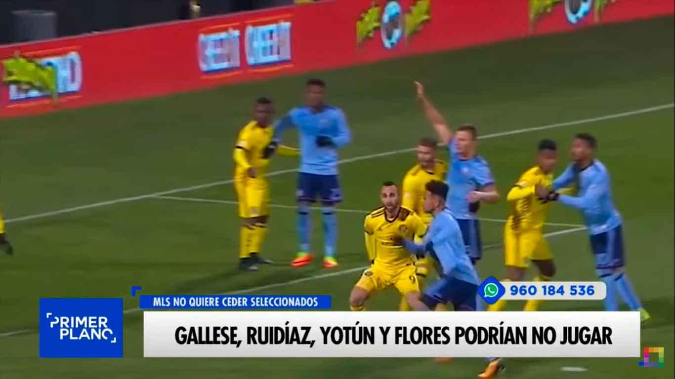 Gallese, Ruidíaz, Yotún y Flores podrían no jugar