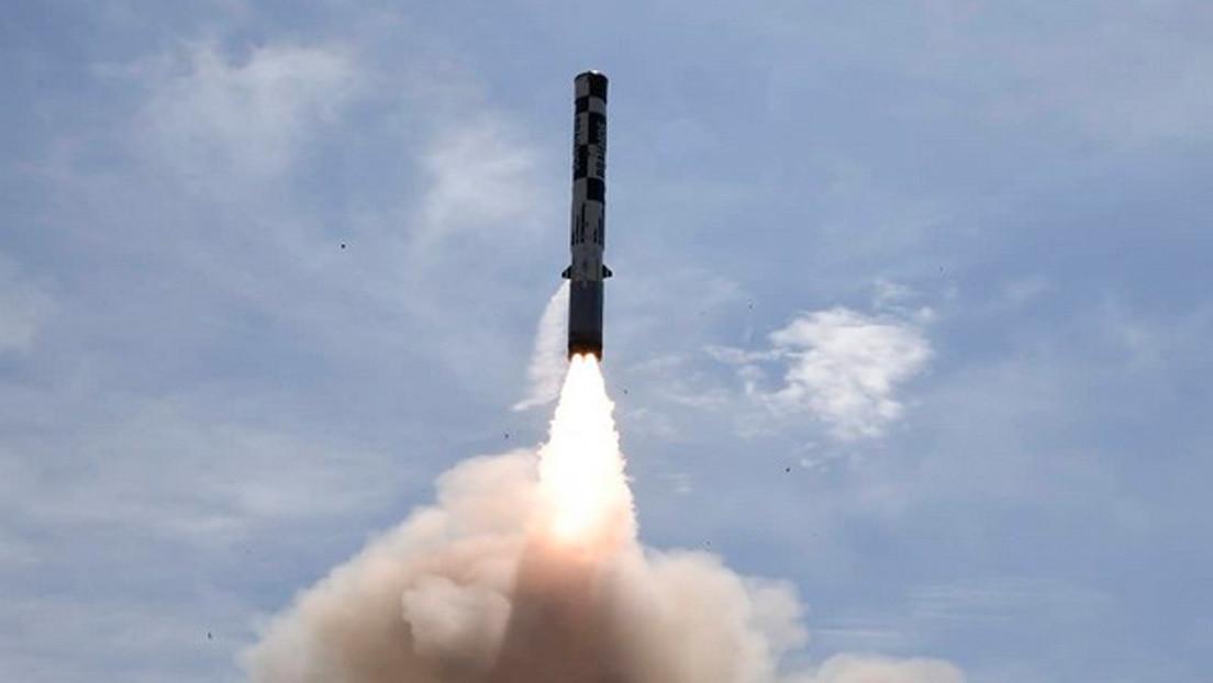 FOTO: India prueba la versión de largo alcance del misil de crucero BrahMos, concebida para contrarrestar a China