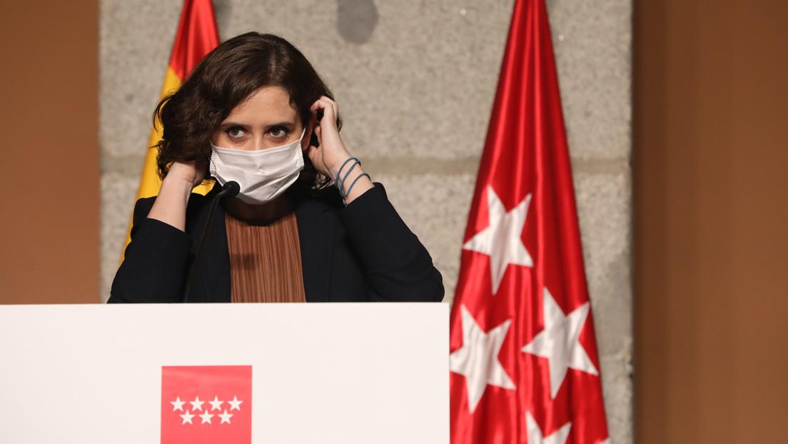 ¿Maniobra de propaganda? La inexplicable operación 'militar' de Isabel Díaz Ayuso para contener el covid-19 en Madrid