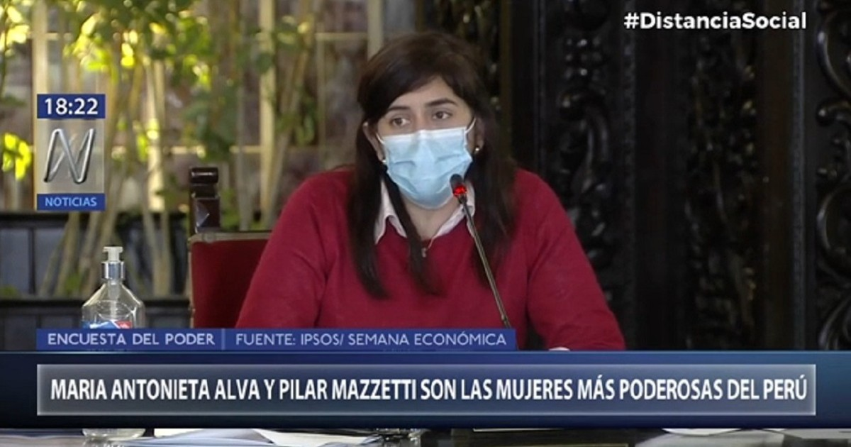 Ministra María Antonieta Alva es considerada la mujer más poderosa del Perú
