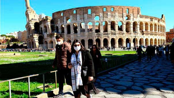 Italia ordena llevar mascarilla siempre y alarga estado de emergencia