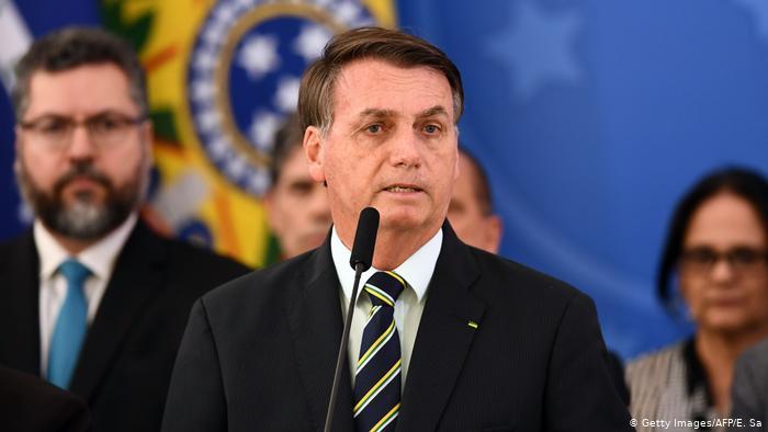 """Jair Bolsonaro afirma que """"ya no hay más corrupción en el Gobierno"""""""