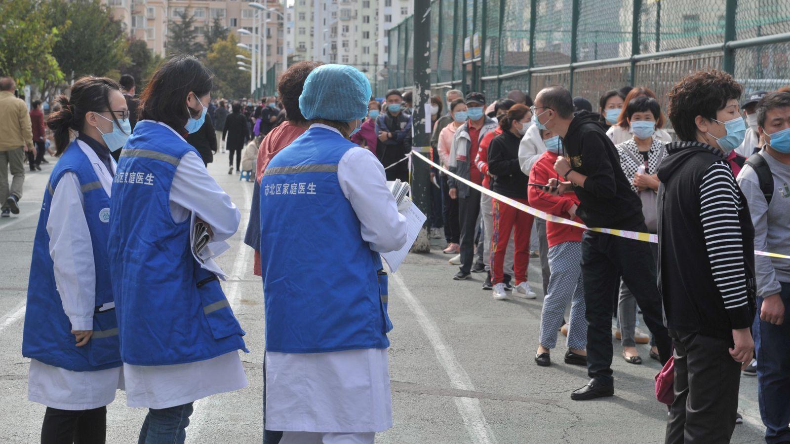 Coronavirus: China probará a nueve millones de personas en solo cinco días después de 12 nuevos casos en la ciudad de Qingdao