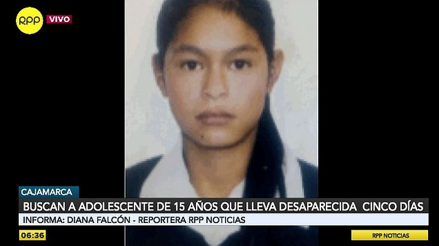 Denuncian desaparición de adolescente de 15 años en caserío de Cajamarca [VIDEO]