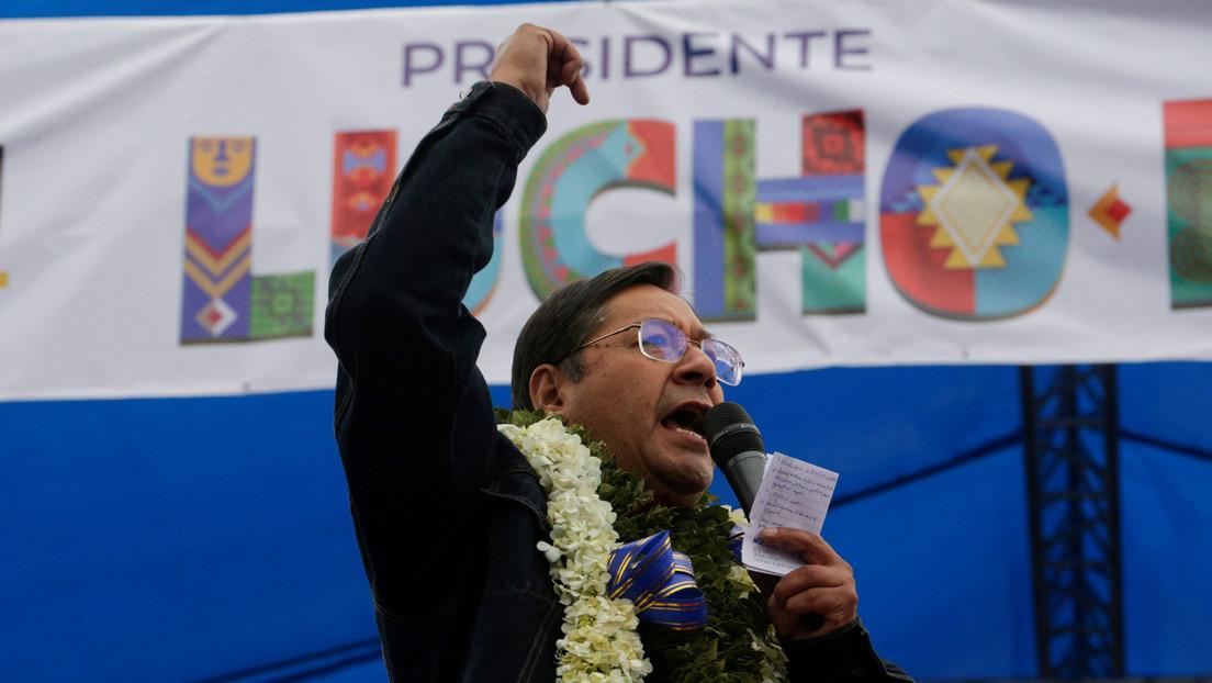 Arce ganaría con el 52,4 % las elecciones presidenciales de Bolivia, según sondeos en boca de urna