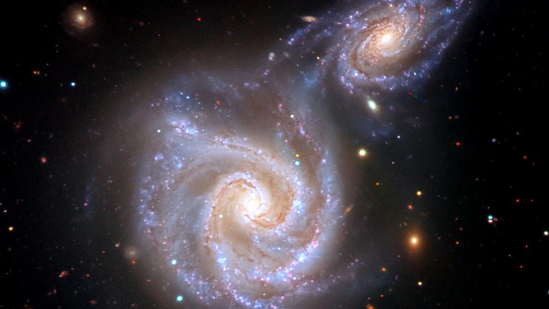 Descubren en la Vía Láctea una evidencia de la colisión radial con una galaxia enana