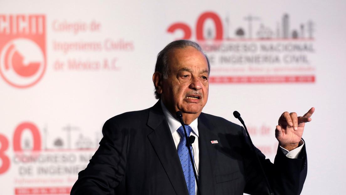 Carlos Slim propone elevar la edad de jubilación a 75 años y trabajar tres días a la semana durante 11 horas «para abrir espacio a otras personas»