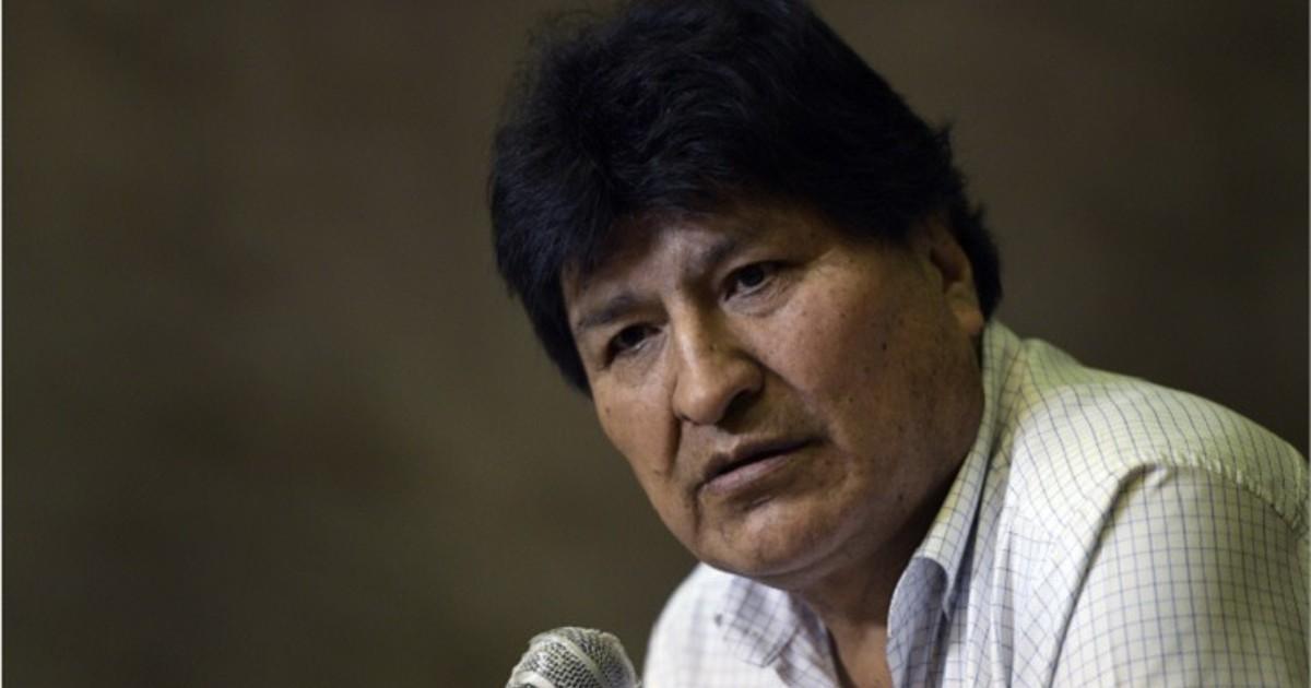 Bolivia: Anulan orden de detención contra Evo Morales