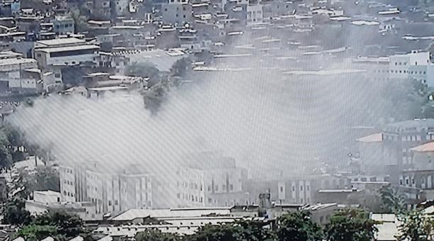 Evacúan a 200 pacientes tras incendio en hospital de Río de Janeiro – Diario Expreso