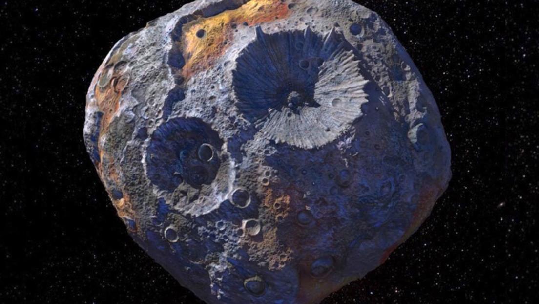 Hubble muestra una imagen del enorme asteroide metálico Psyche, cuyo valor supera a toda la economía global