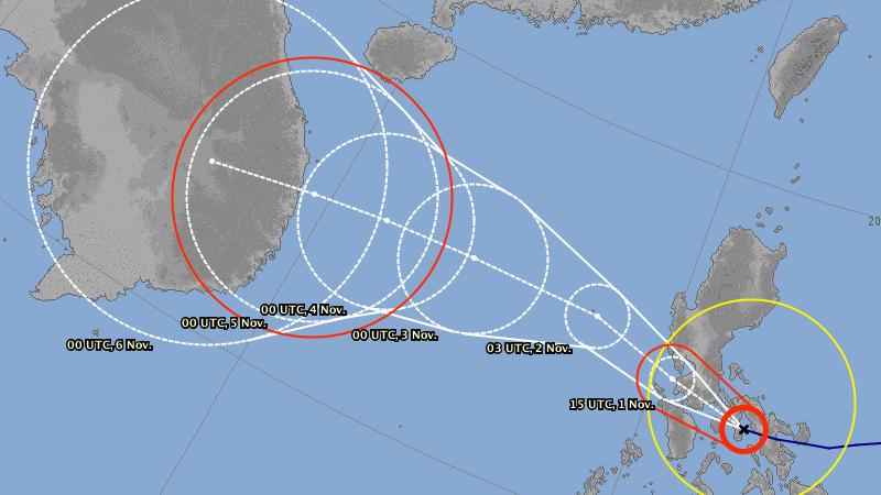 Monstruoso tifón Goni azota Filipinas como categoría 5