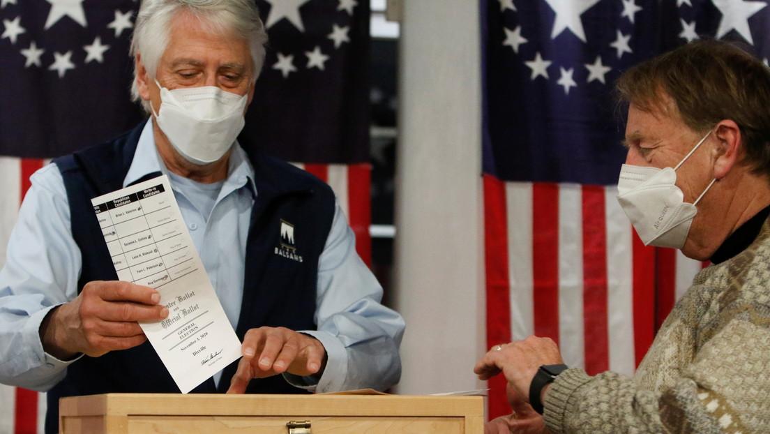 Se dan a conocer los resultados de la votación en el primer colegio electoral abierto en EE.UU.