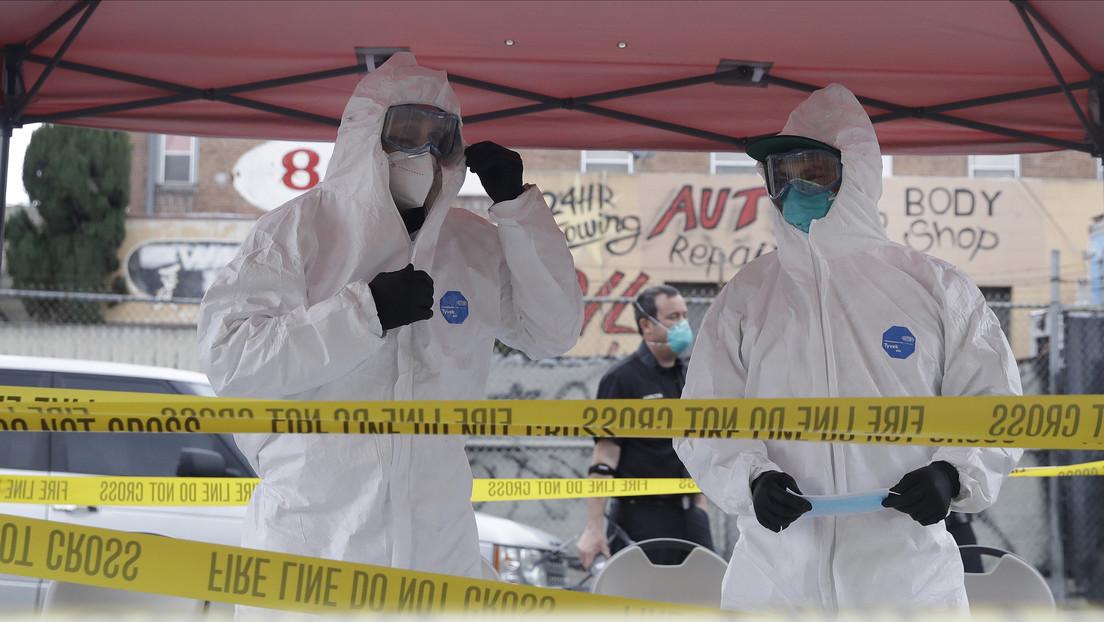 EE.UU. rompe de nuevo el récord de contagios por coronavirus con más de 121.000 casos diarios