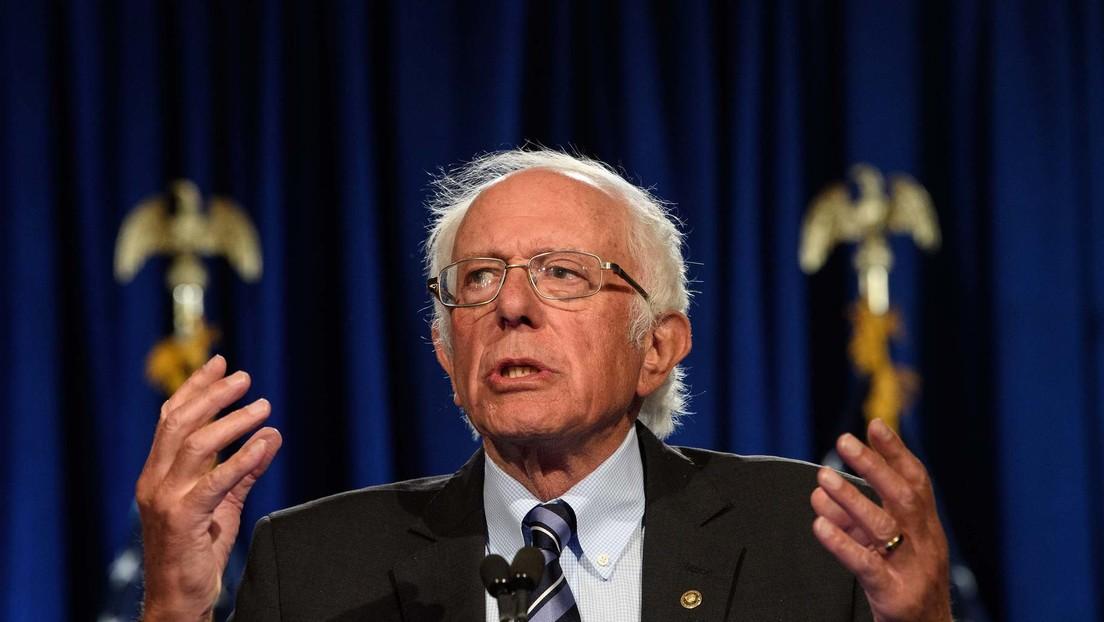 Bernie Sanders aclama la «aparente victoria» de Biden en las elecciones, pero advierte que la «lucha aún no ha terminado»