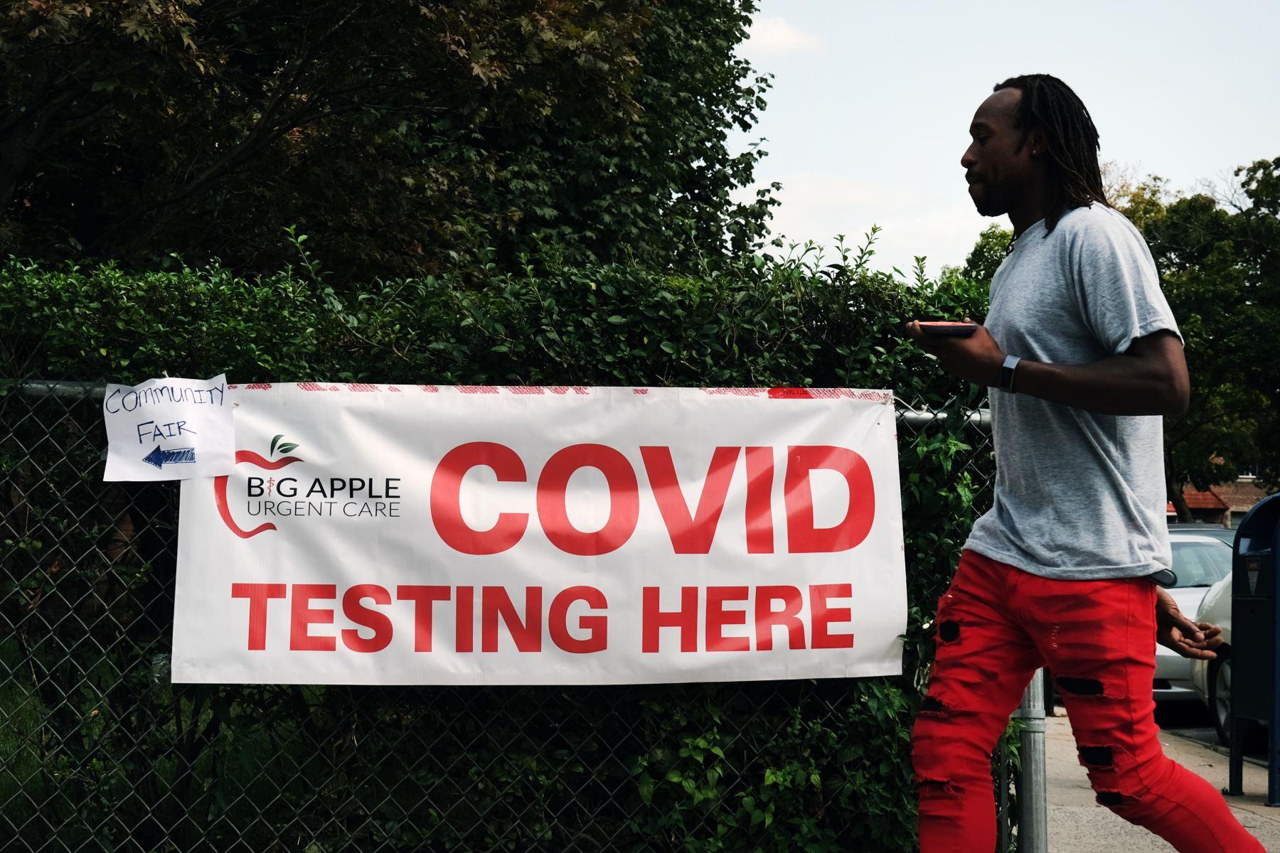 EE. UU. bate récord de contagios de covid-19 por tercer día consecutivo