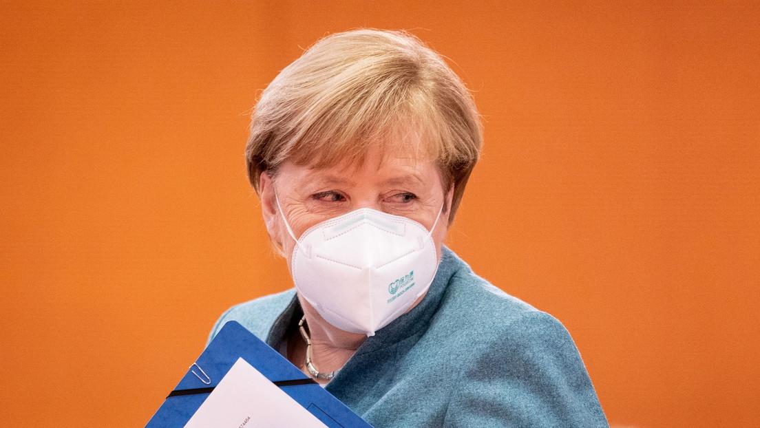 Merkel: «Las restricciones por el covid-19 se levantarán solo cuando entre el 60 y el 70 por ciento de la población sea inmune»