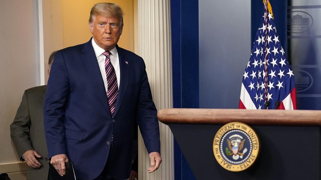 Trump anuncia un «gran progreso» tras su denuncia de fraude electoral y asegura que habrá resultados la semana que viene