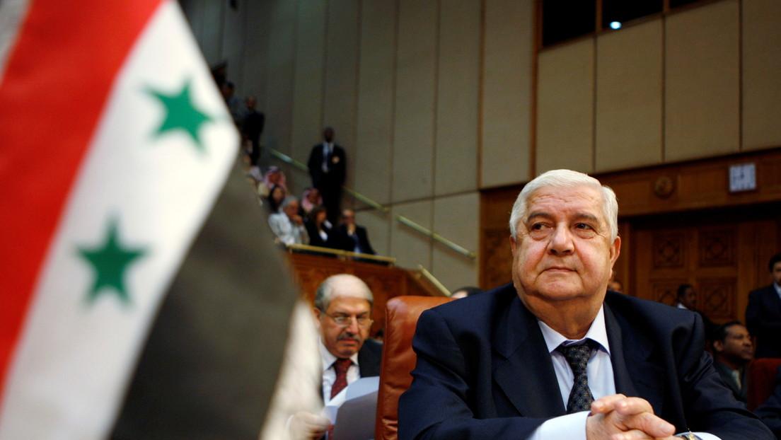 Muere el canciller de Siria, Walid Mualem