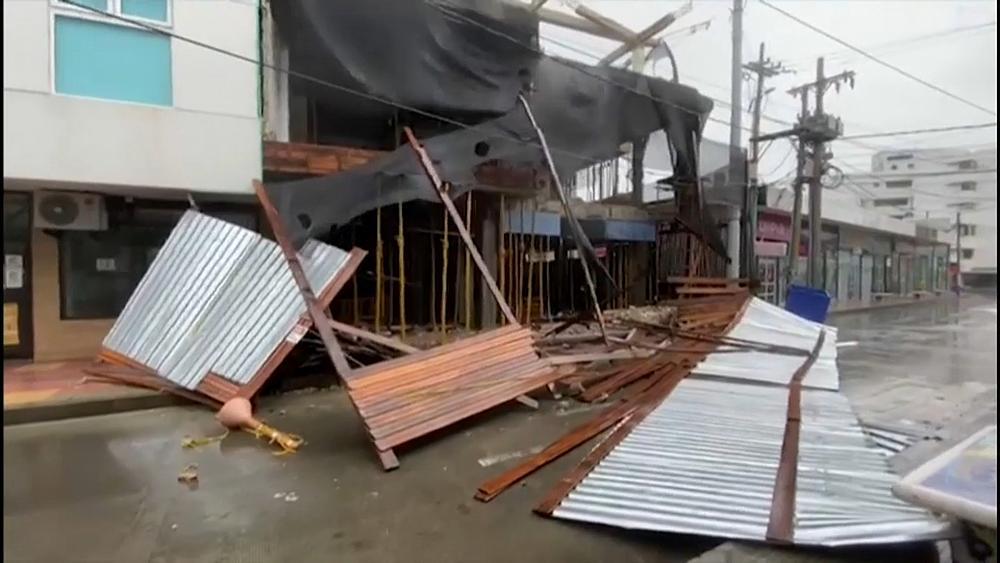El destructivo huracán Iota golpea el Caribe norte de Nicaragua