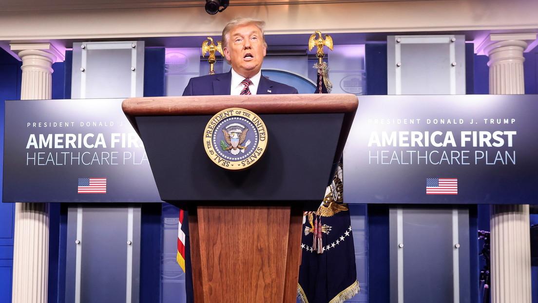 Trump anuncia «dos innovadoras normativas» para reducir el precio de los medicamentos en EE.UU. que las farmacéuticas desafiarían en tribunales