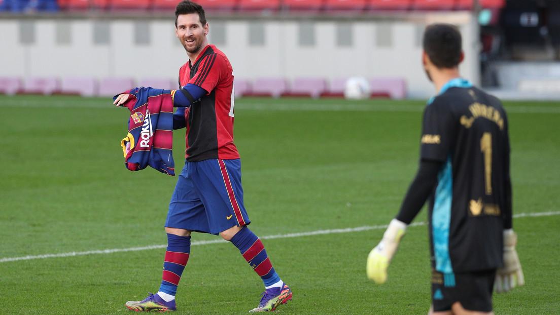El precio de la multa que deberá pagar el Barcelona por el homenaje de Messi a Maradona