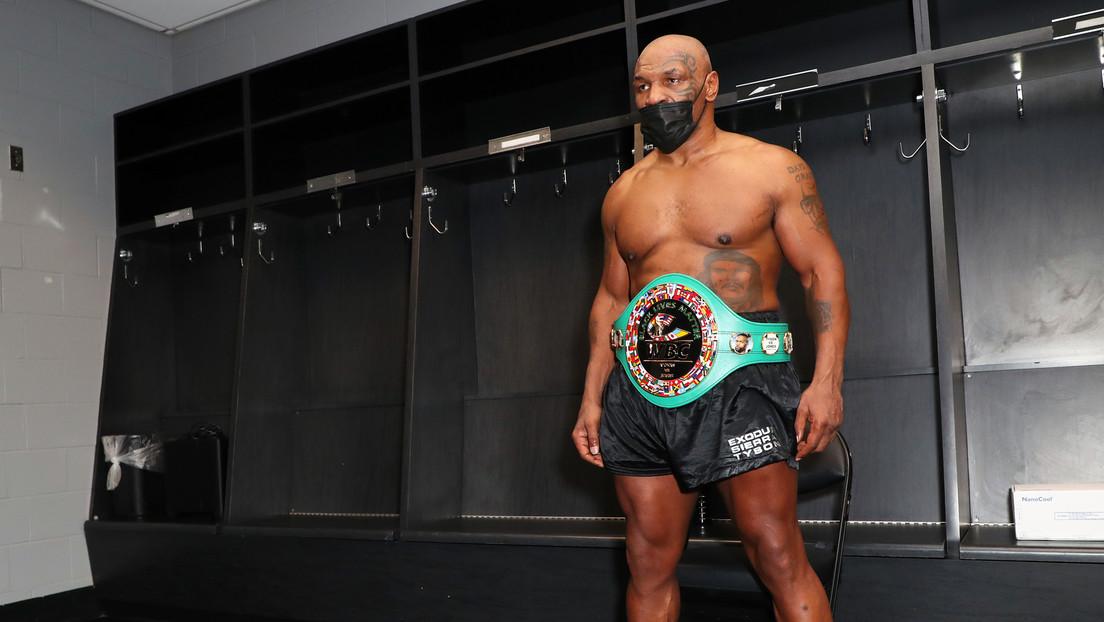Las redes se inundan de memes tras el regreso de Mike Tyson al cuadrilátero y su empate con Roy Jones Jr.