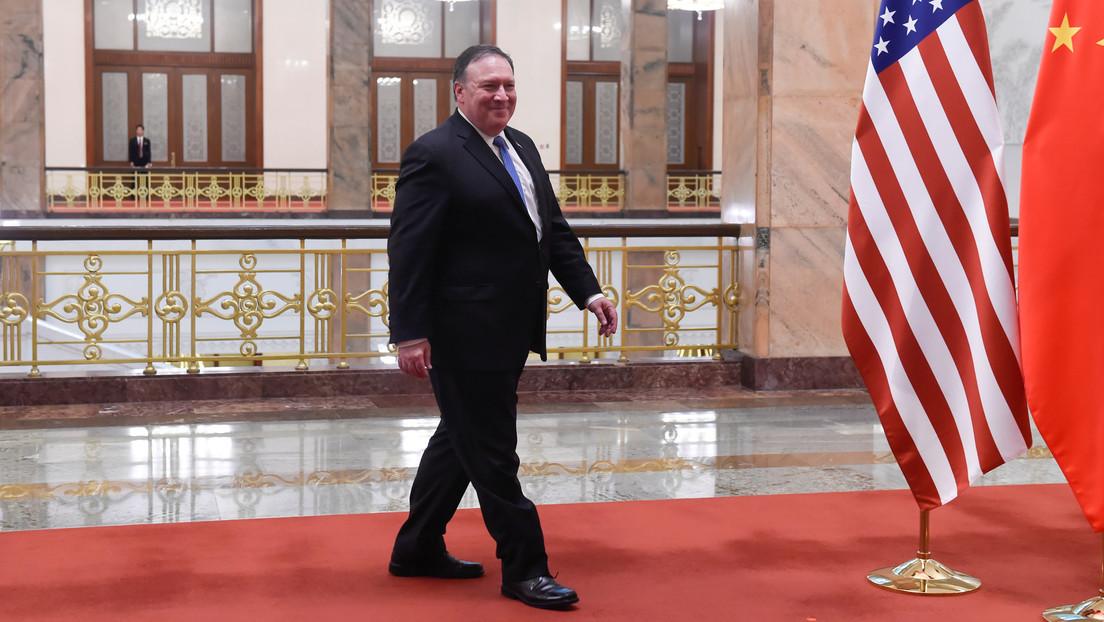 Pekín llama «mantis religiosa» a Mike Pompeo tras las últimas sanciones de EE.UU. contra China
