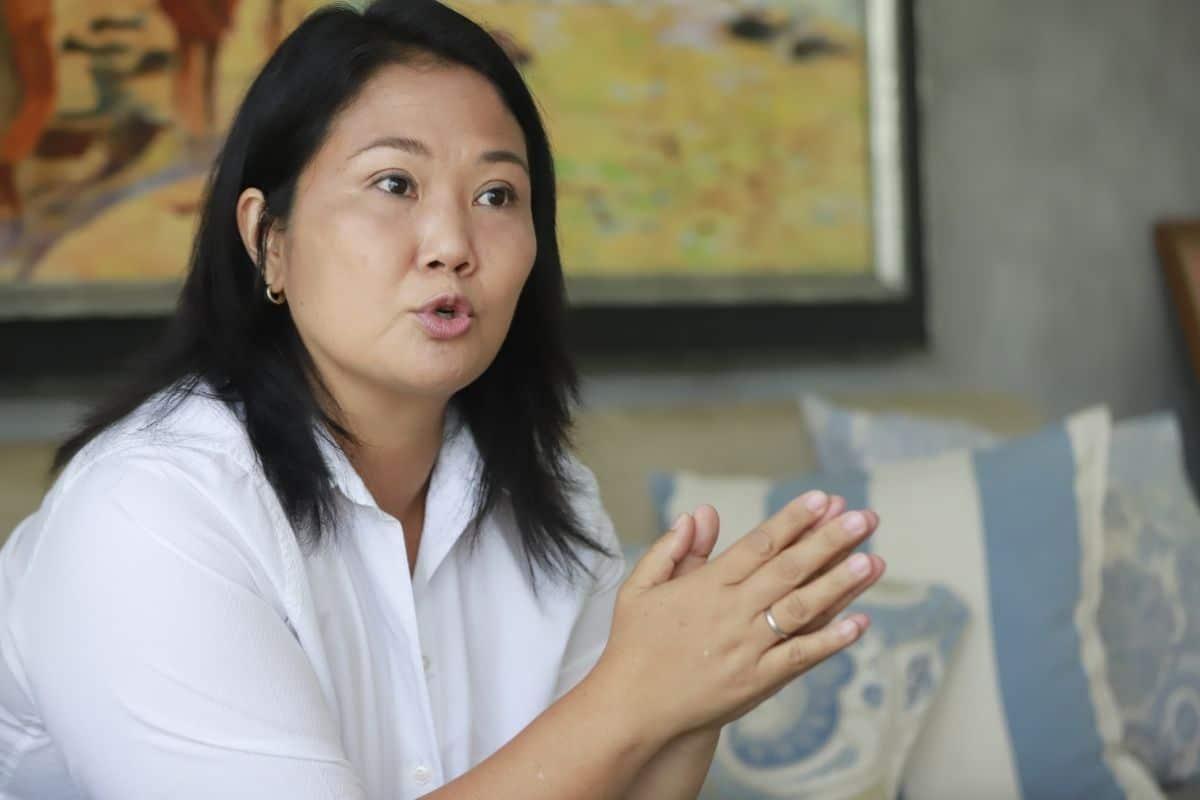 """Keiko Fujimori: """"Combatiremos a la izquierda radical"""""""