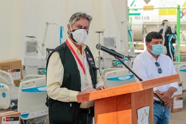 Presidente Sagasti sostiene que la vacuna peruana anticovid «no se puede producir en el país»