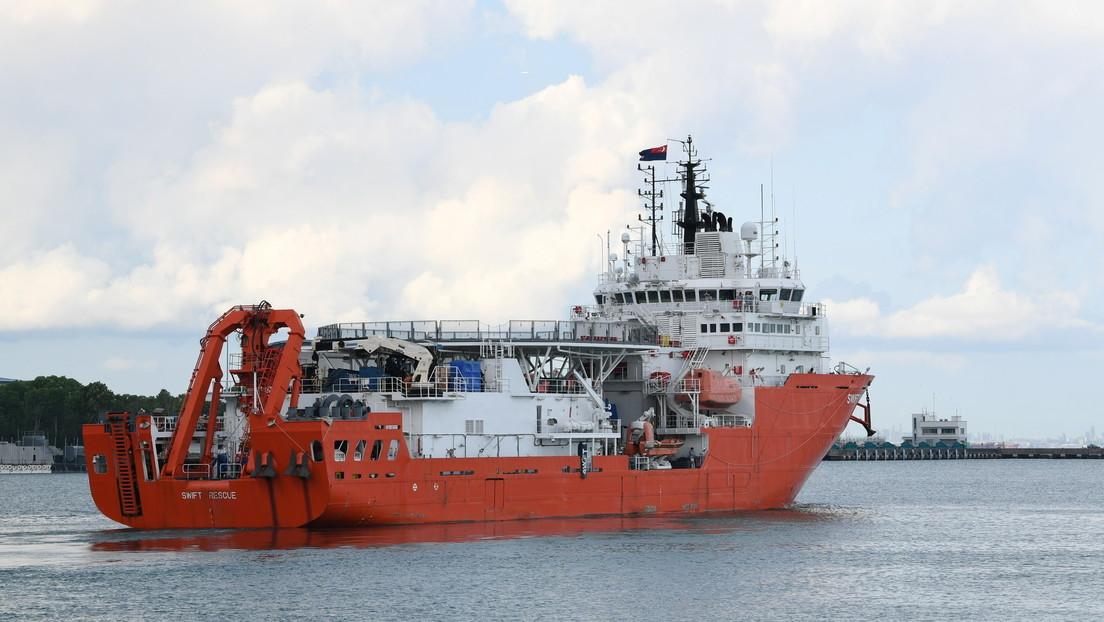 Encuentran los restos, que serían del submarino de la Armada indonesia desaparecido con 53 personas a bordo