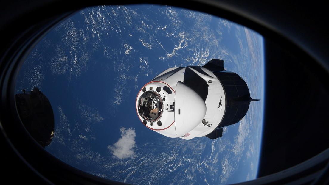 VIDEO: Un «objeto desconocido» casi choca contra la Crew Dragon de SpaceX con 4 astronautas a bordo
