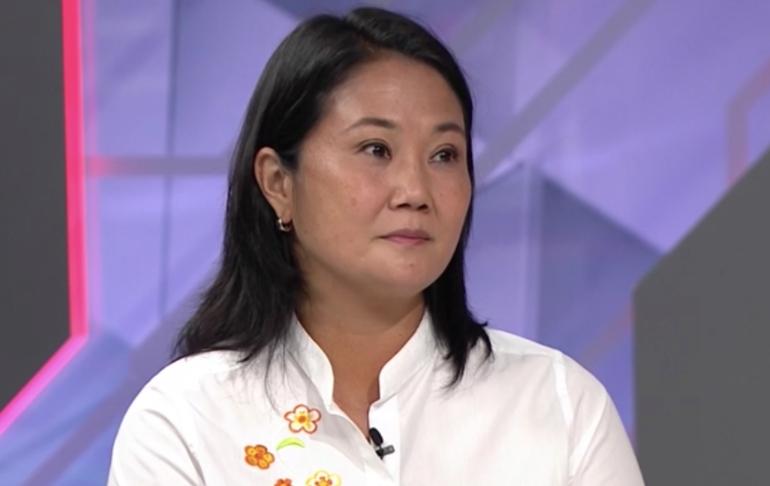 Keiko Fujimori: Si Pedro Castillo no quiere debatir conmigo, que lo haga Vladimir Cerrón
