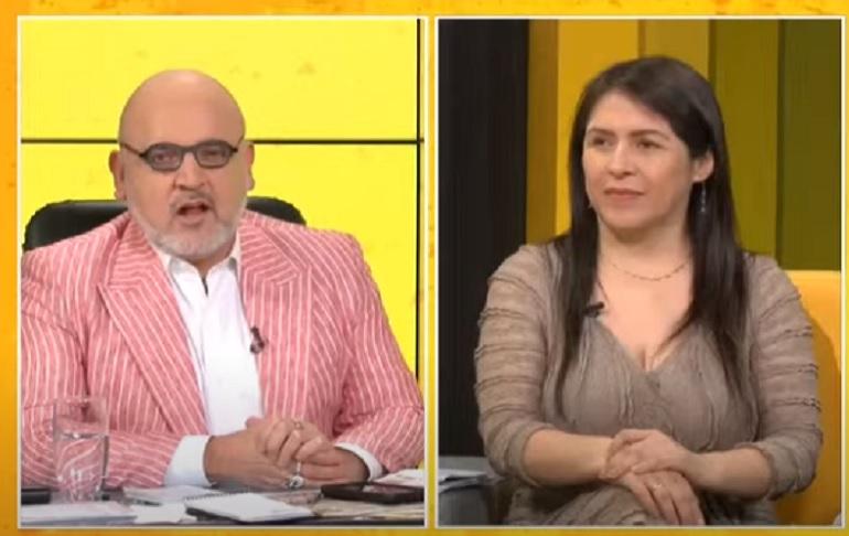 """Yeni Vilcatoma: Pedro Castillo se convierte hoy en un """"presidente de facto"""""""
