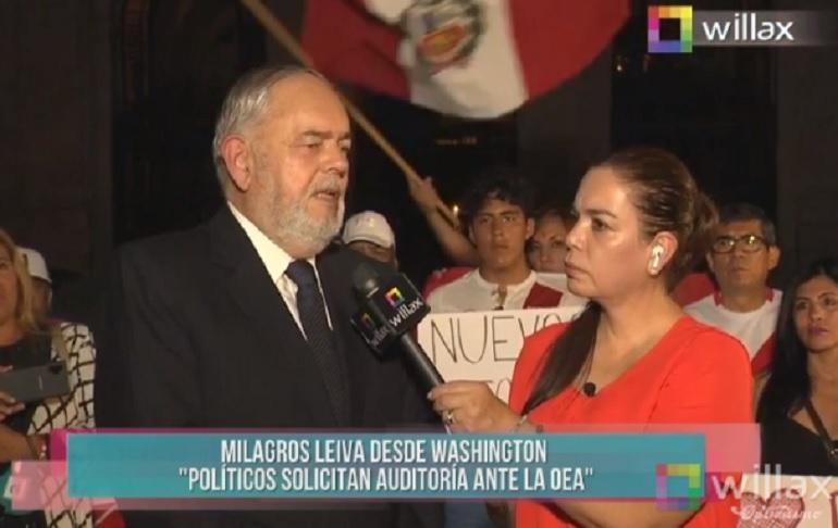 Almirante Jorge Montoya: No nos hemos divorciado de Keiko Fujimori, el apoyo ha sido incondicional