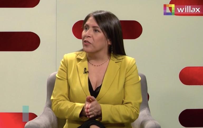 """Yeni Vilcatoma: """"Definitivamente, Pedro Castillo va a ser incluido en la investigación de 'Los Dinámicos del Centro'"""""""
