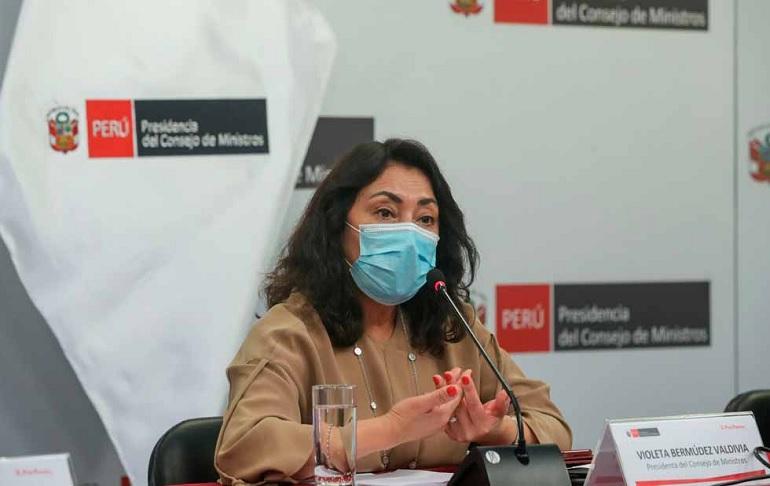"""Violeta Bermúdez a Keiko Fujimori: """"El árbitro de un proceso electoral es el Jurado Nacional de Elecciones"""""""