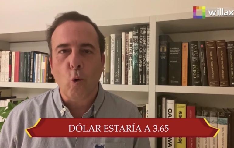 A. Mariátegui: El dólar costaría S/3.65 si la extrema izquierda no estuviese en el poder