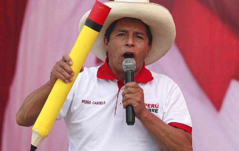 """Pedro Castillo se solidariza con protestas en Cuba, pero afirma que estas son por la """"persecución económica norteamericana"""""""