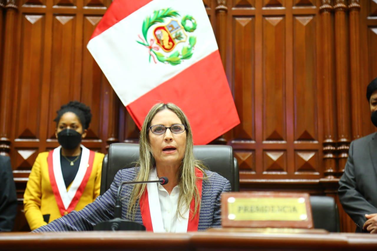 María del Carmen Alva es la nueva presidenta del Congreso